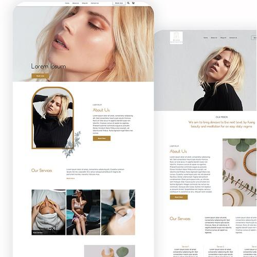 SQUARE ONLINE STORE | Design for Evans Aesthetics