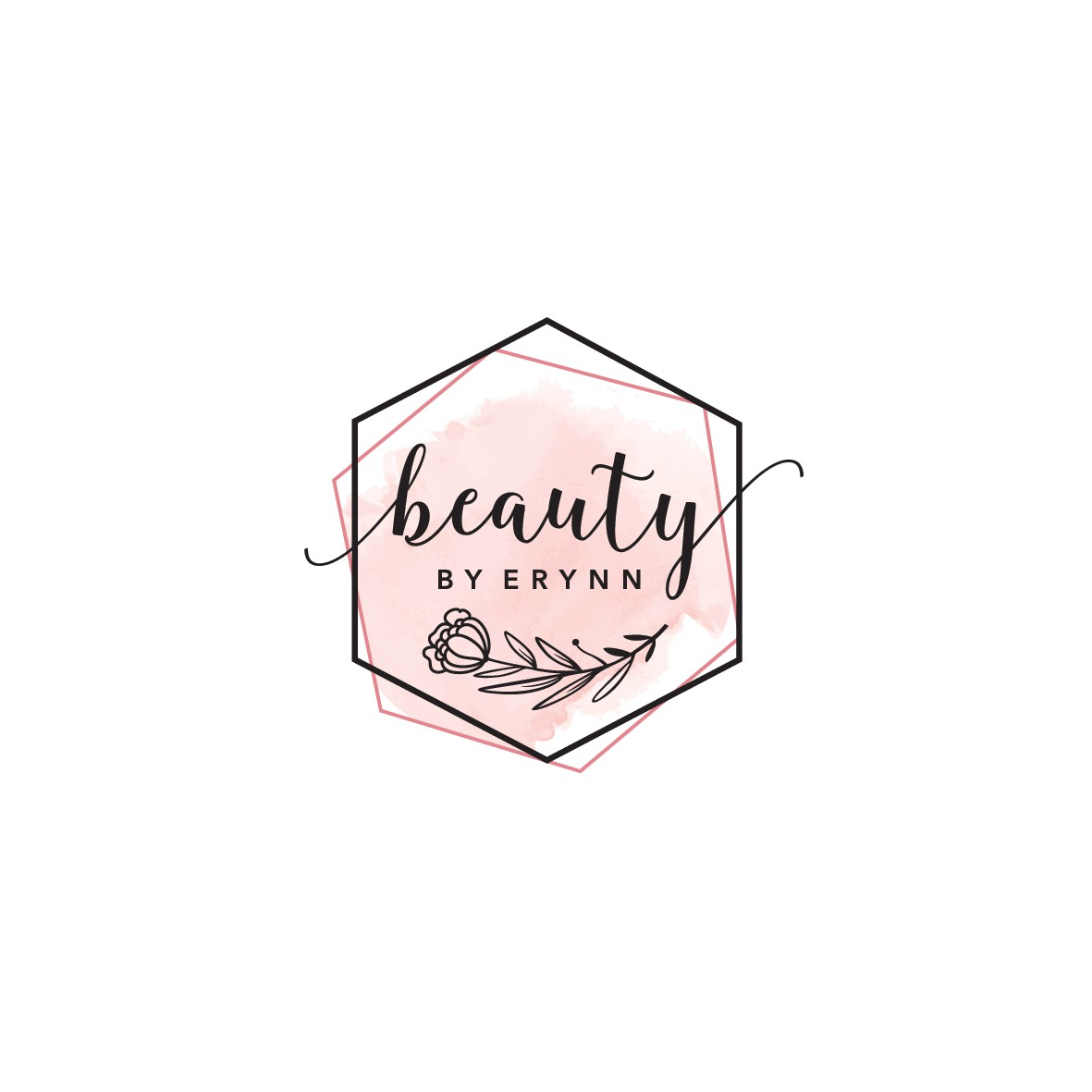 Design a modern & feminine logo for my independent hair salon suite!