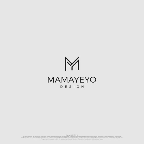 chic and clean logo for clothing company