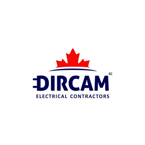 Logo concept Dircam Electric Contractors