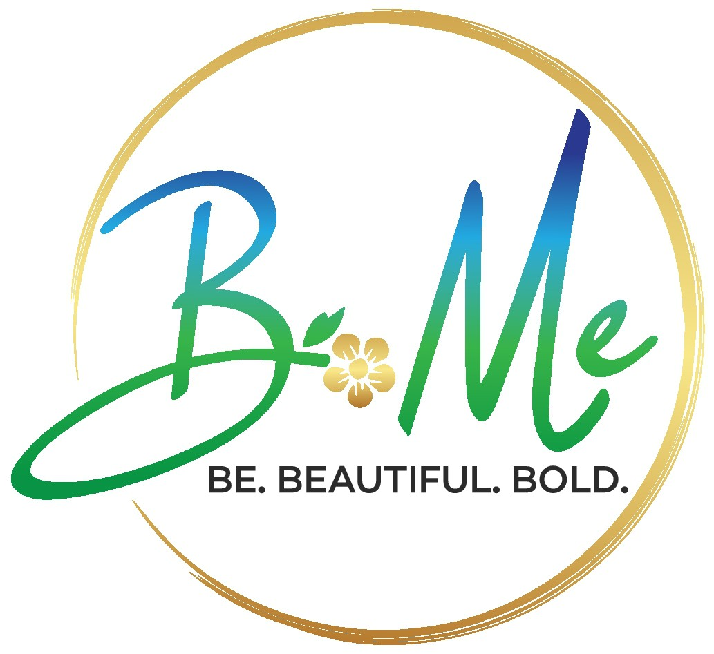"""Design a free spirit logo for a beauty brand """"Be Me"""" about bold,self reflection and mood boost"""
