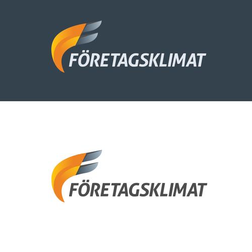 Foretagsklimat logo design