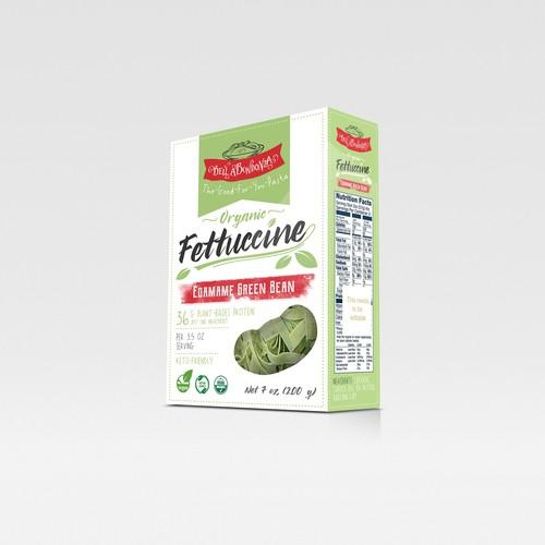 Organic fettuccine design