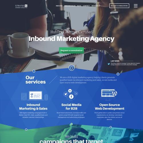 A growing digital marketing agency