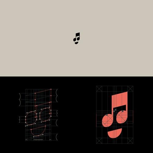 Catchy Music Logo