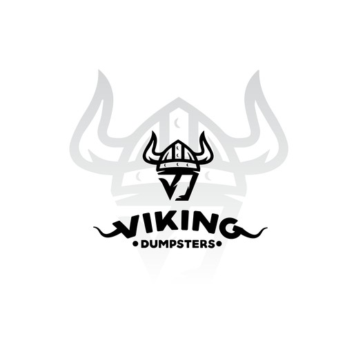 logo for viking dumpsters