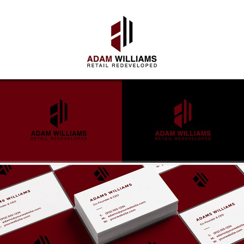 ADAM WILLIAMS LOGO