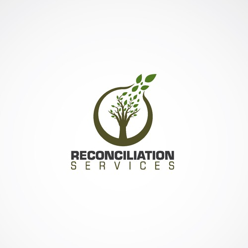 Design a logo for Reconciliation Services, a non-profit committed to social justice.