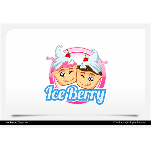 Create the next logo for Ice Berry