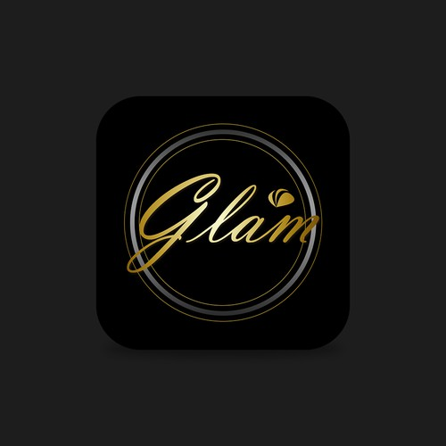 Elegant Icon for Glam