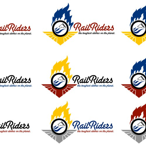 logo for RailRiders