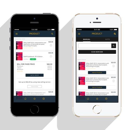 GUARANTEED: Create design for product list (app)