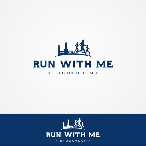 Logo for Run With Me Stockholm