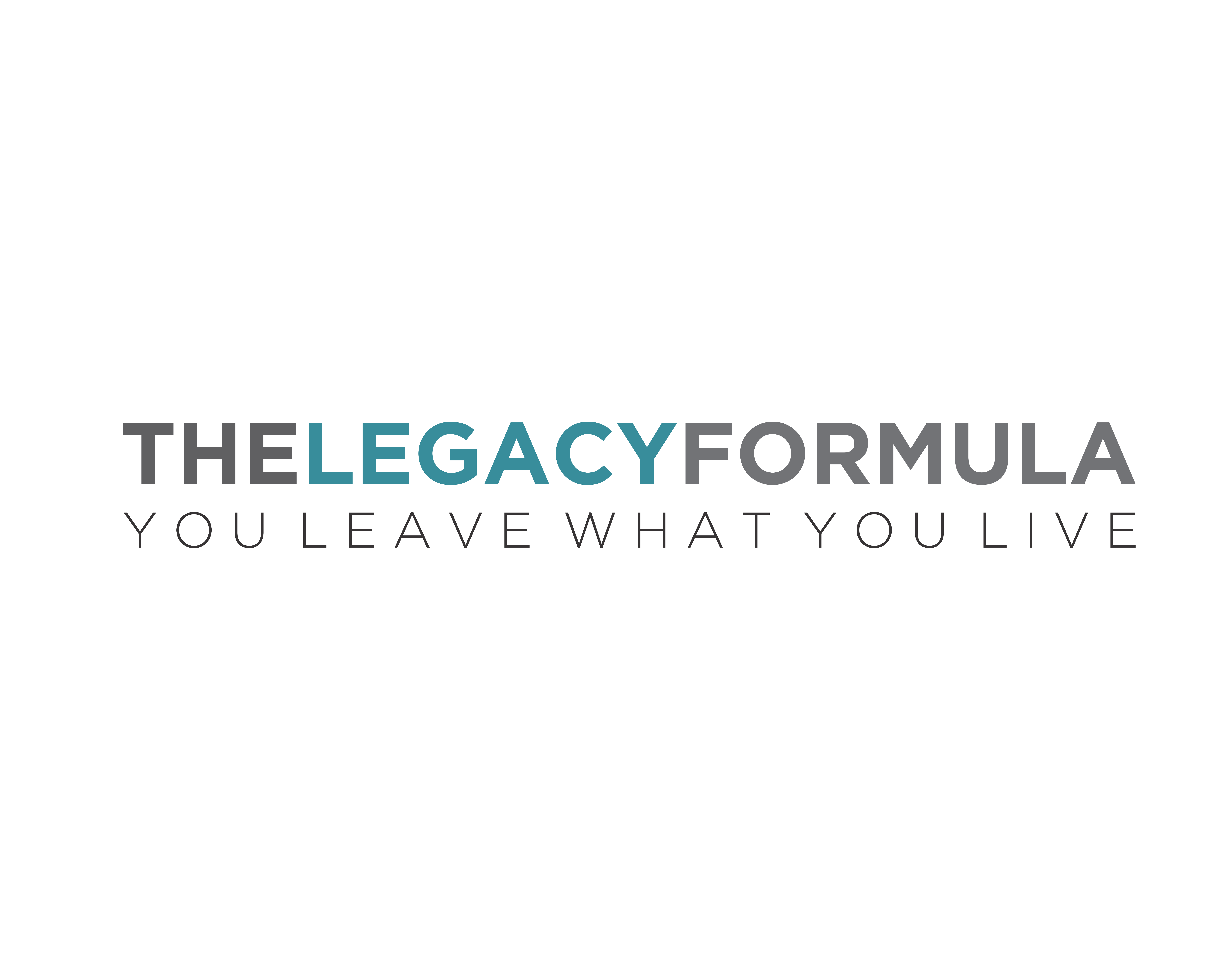Create a compelling logo that inspires people to live their legacy