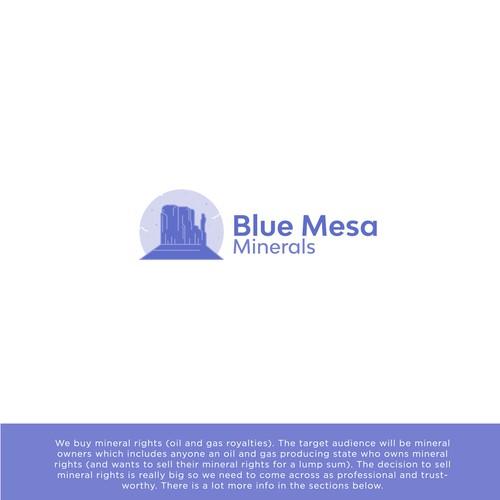 Blue Mesa Minerals Logo