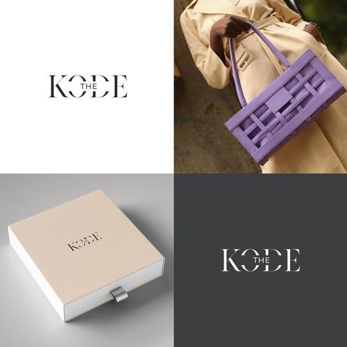 Brand Identity THE KODE — fashion brand by Tatyana Kodzayeva
