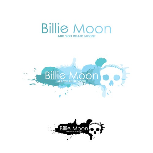 Billie Moon Logo design