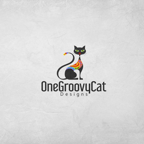 Logo with cat