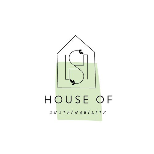 Monogram house logo