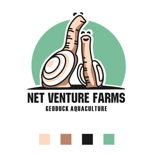 Logodesign for a shellfish farm
