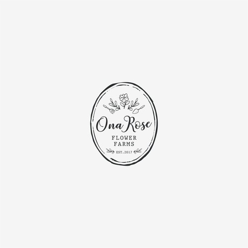 Logo concept for Ona Rose