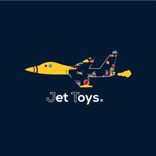 Logo concept for Jet Toys