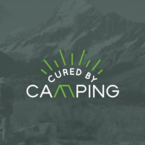 Logo for Cured by Camping