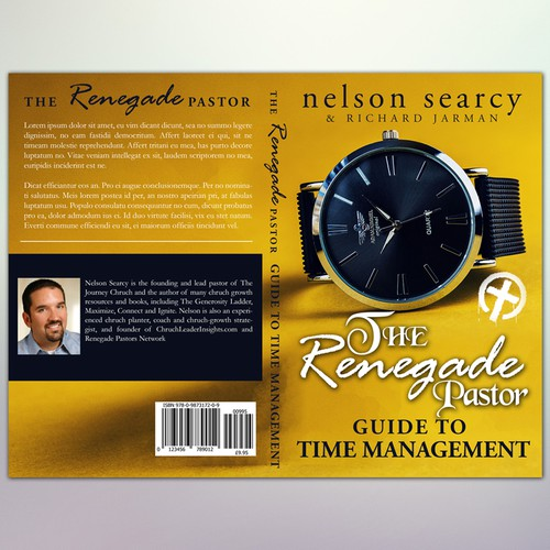 """Book Cover Concept for """"The Renegade Pastor's Guide to Time Management"""""""