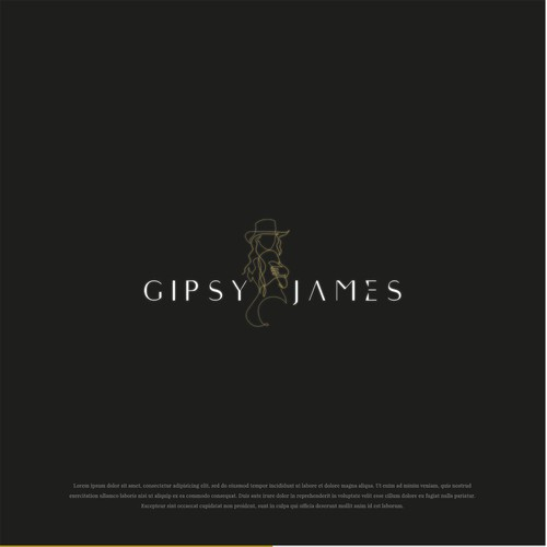 LOGO FOR GIPSY JAMES