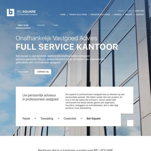 Real Estate corporate website