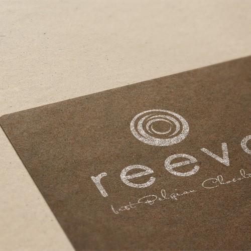 Corporate logo for Belgian chocolate shop