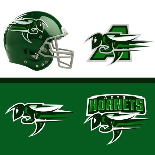 ACYS Football Helmet and Merchandise Design