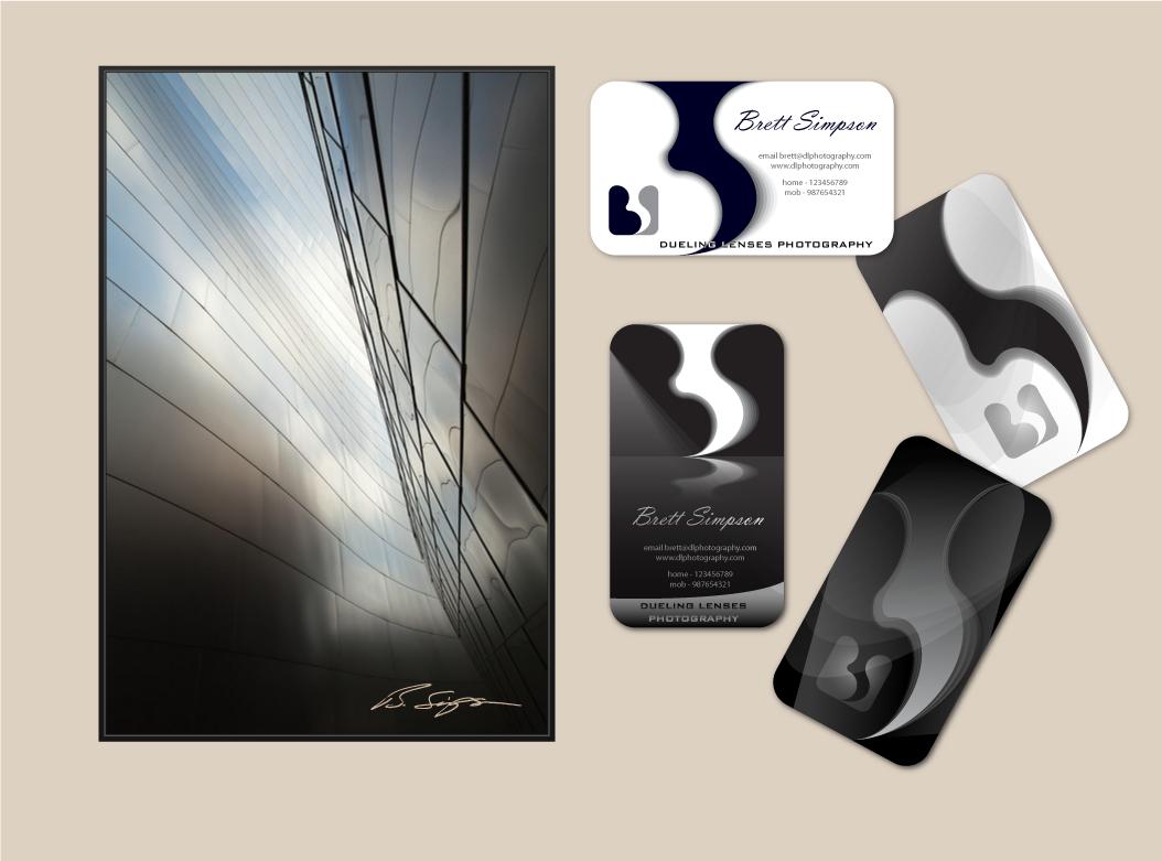 Create the next logo for Brett Simpson ~ Dueling Lenses Photography