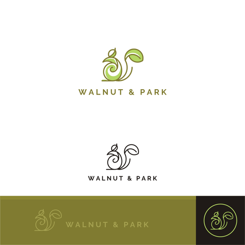Simple and memorable logo for Walnut & Park
