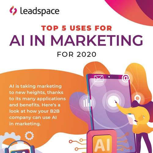 AI in Marketing Infographic