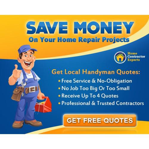 Fun and Creative Handyman Ad