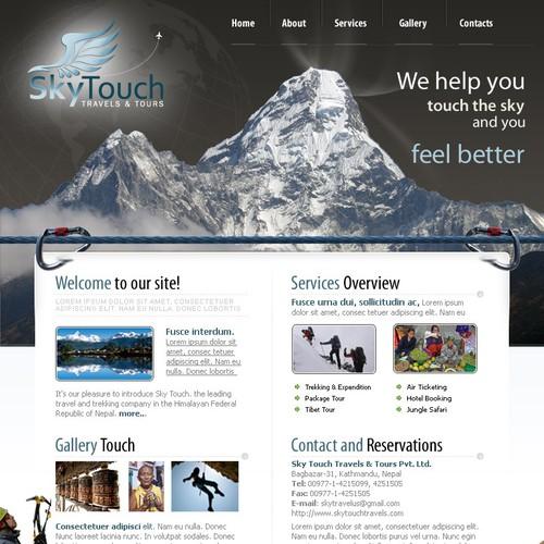 Designer Needed:  Travel & Tour Agency Logo and Website