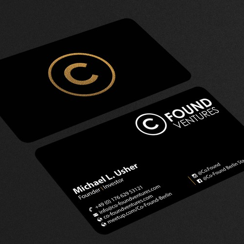 Co-Founder Business card