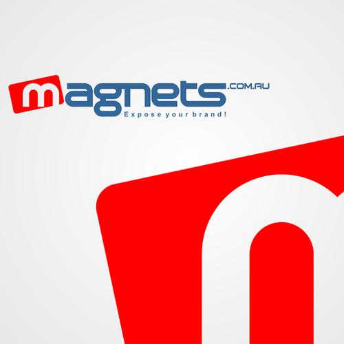magnets.com.au new logo design.