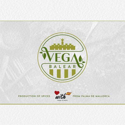 Logo concept for spice factory Vega Balear