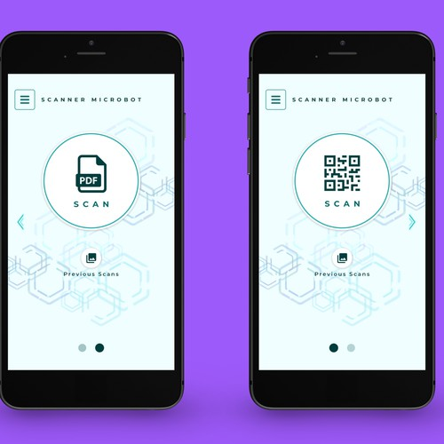 Scanner app design