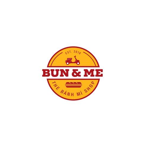 Bun & Me Logo Design