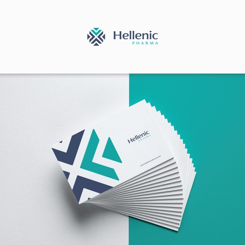 Concept logo for Hellenic Pharma