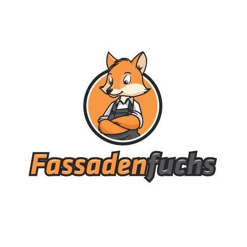 Fassadenfuchs logo design concept