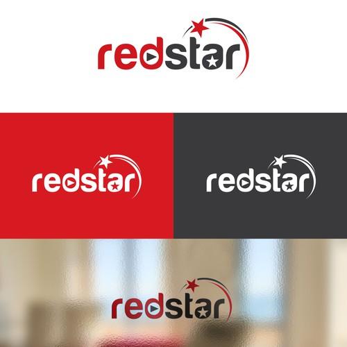 redstar logo design