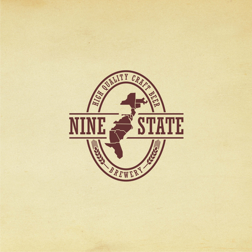 NINE STATE bakery logo