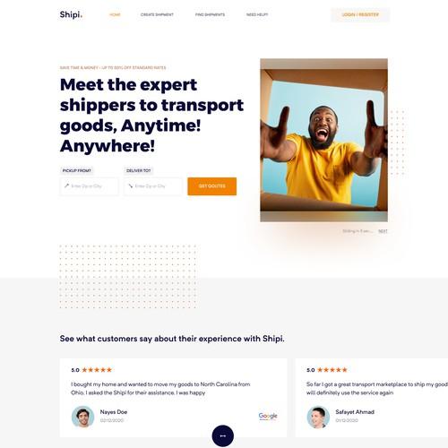 Shipi Website