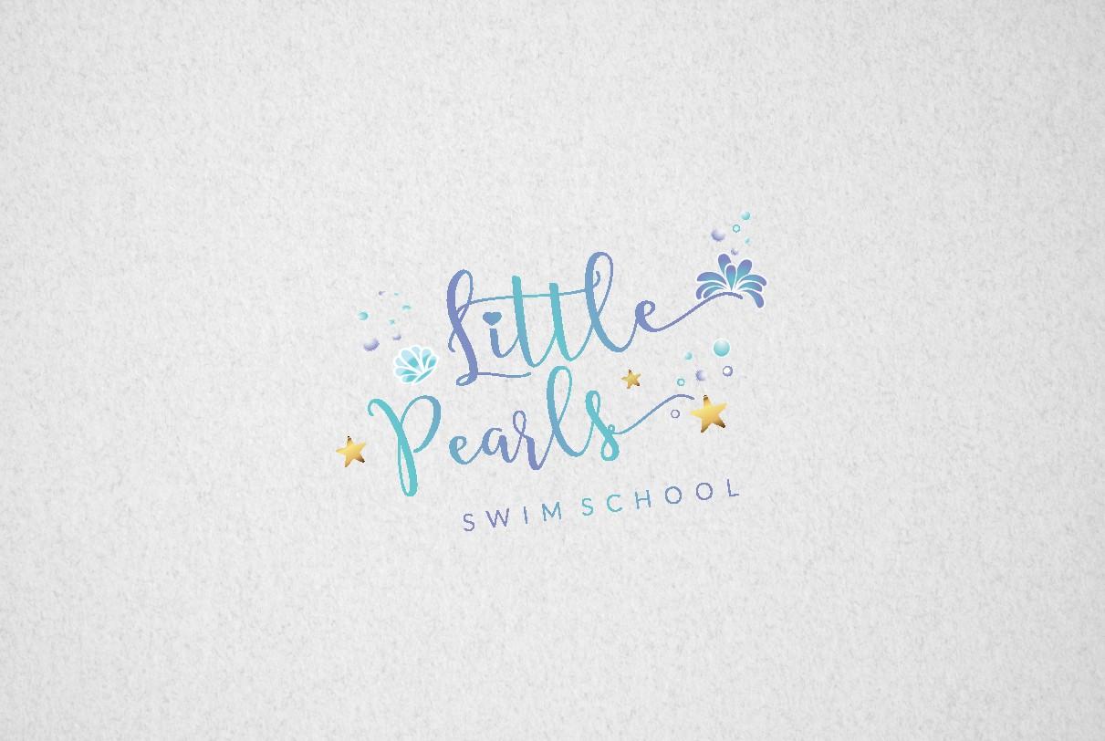 Logo design for Little Pearls Swim School