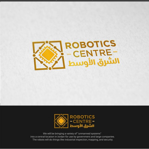 Logo for Robotics Centre Middle East