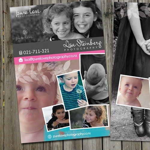 Pure Love Photography needs a new postcard or flyer